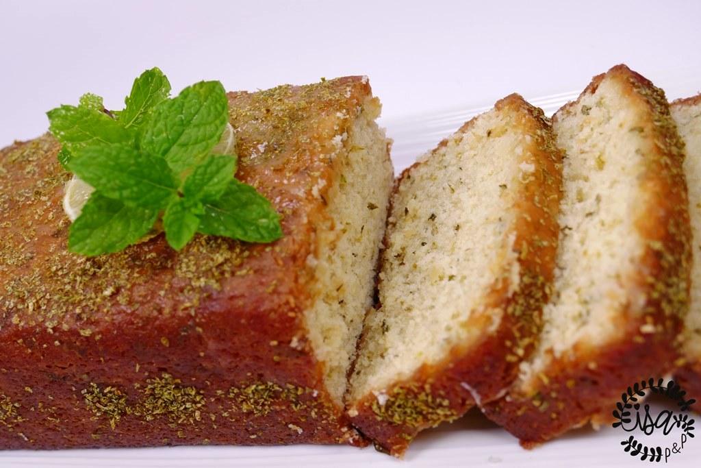 Le cake citron vert & menthe de Yann Couvreur