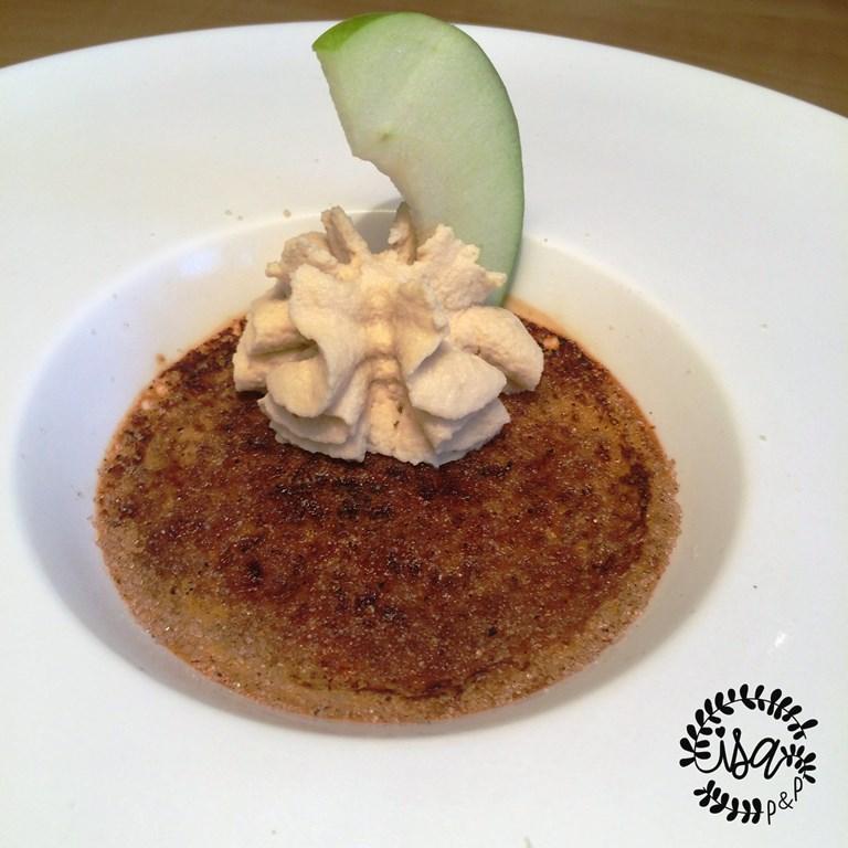 Crème brûlée au foie gras par Anne-Sophie Pic