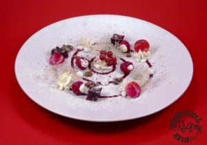 Betteraves, fruits rouges/timut par J.Noray