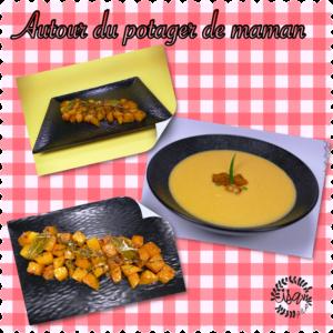 Velouté de butternut, citronnelle & coco