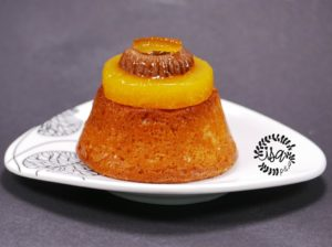 Petits cakes orange et gianduja