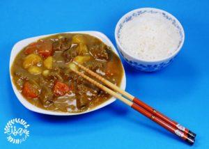 Bœuf au Golden curry