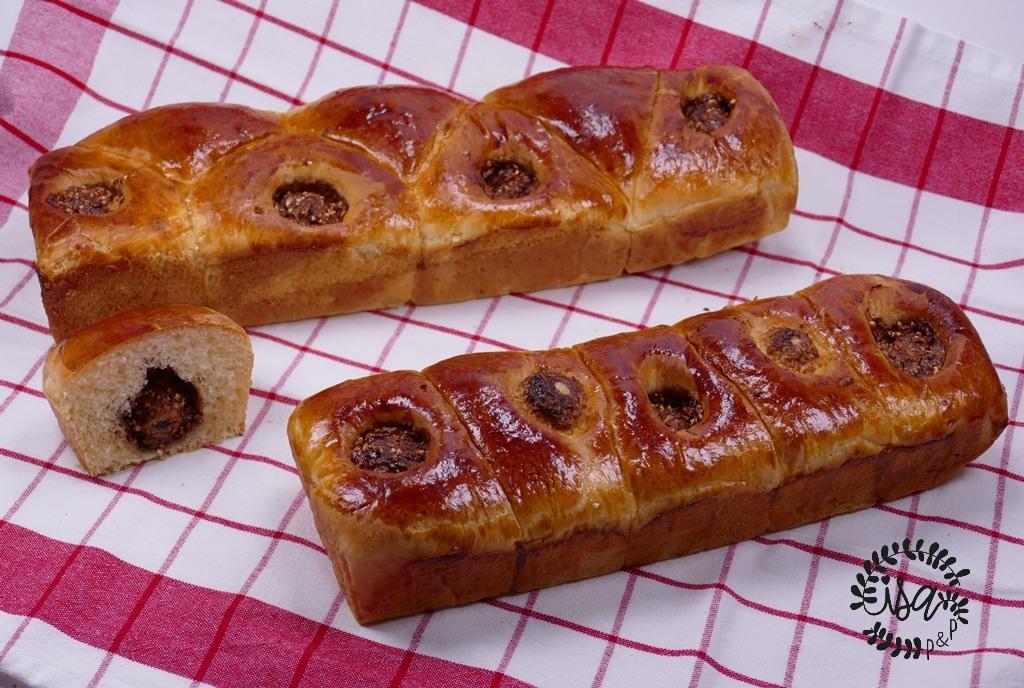 Brioches aux Ferrero rocher®