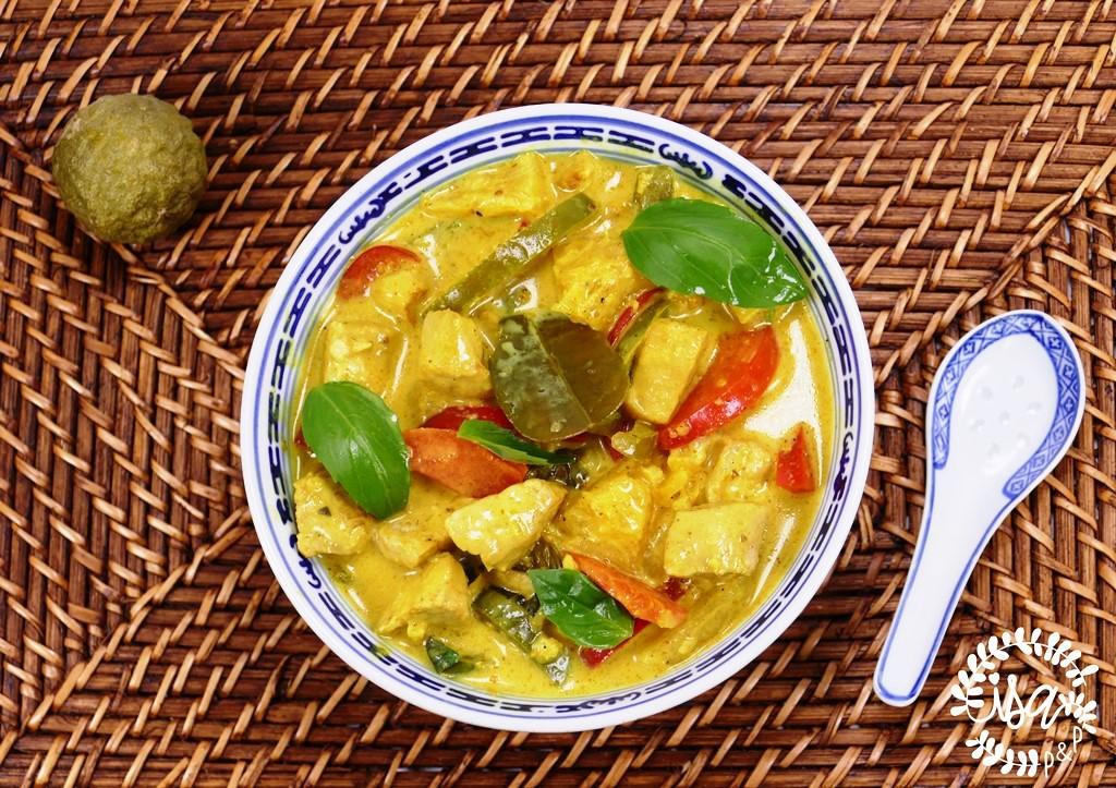 Curry de porc au combawa