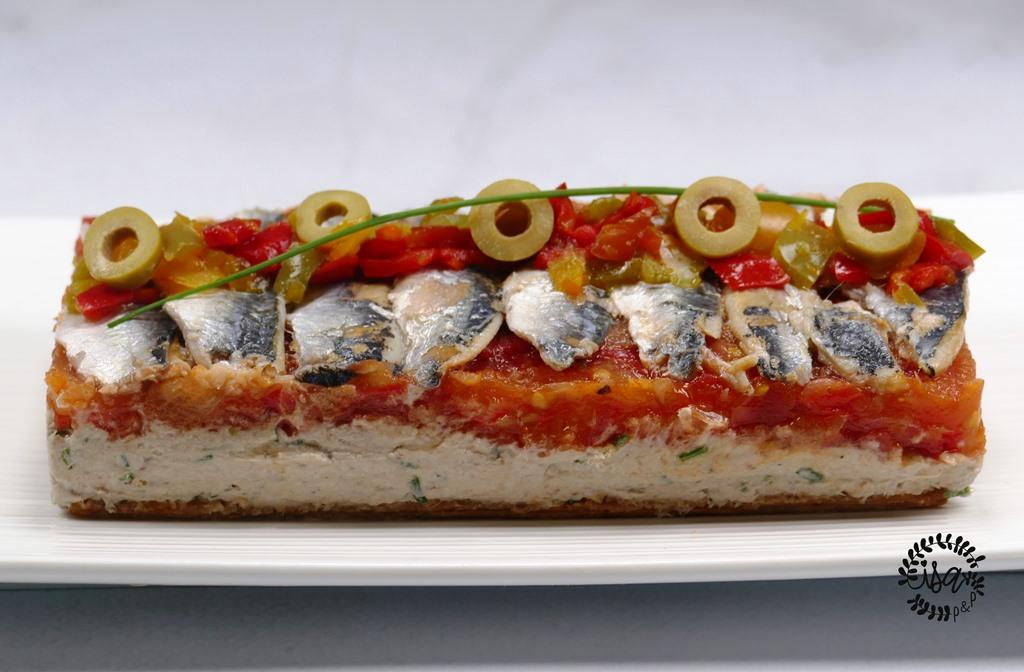 La recette autour de la sardine-tomate de Philippe Etchebest