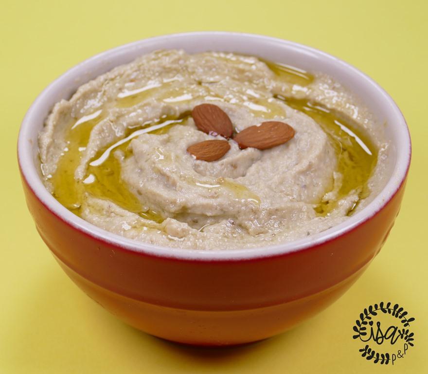 Baba ganoush (caviar d'aubergines Oriental)
