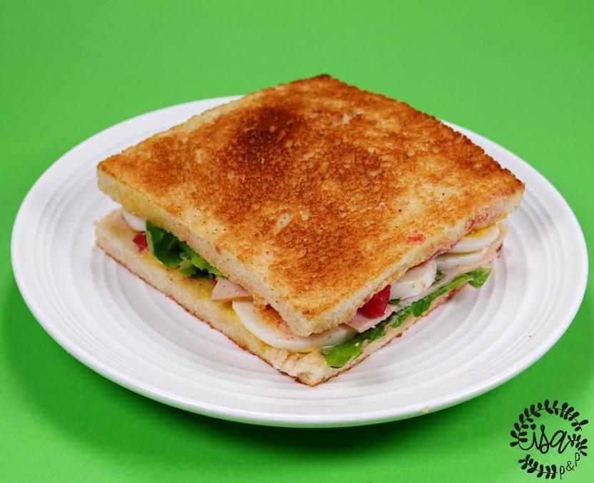 Bread maki ou club sandwich par Thierry Marx