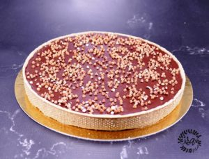 Tarte onctueuse chocolat et sarrasin torréfié