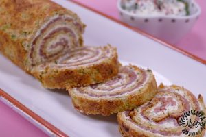 Roulé courgette/saumon