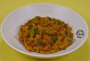 Mosoor dal ou lentille à l'indienne