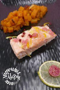Saumon confit & butternut
