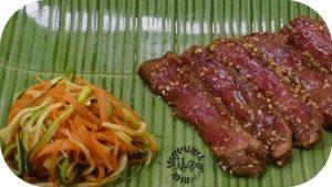 Tataki de bœuf