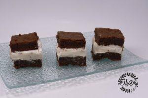 Fondant au chocolat et crème Marshmallow