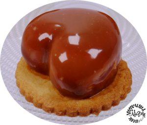 Cœurs pomme vanillée/caramel
