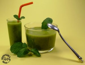 Gaspacho courgettes/menthe