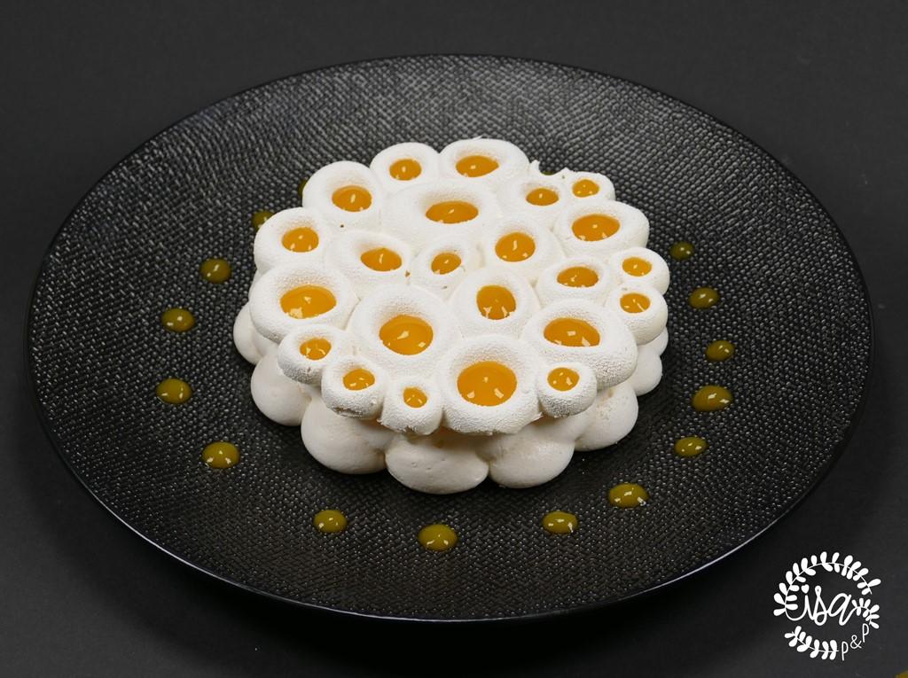Pavlova vanille & mangue