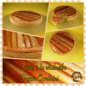 La tarte à la rhubarbe de Philipe Conticini