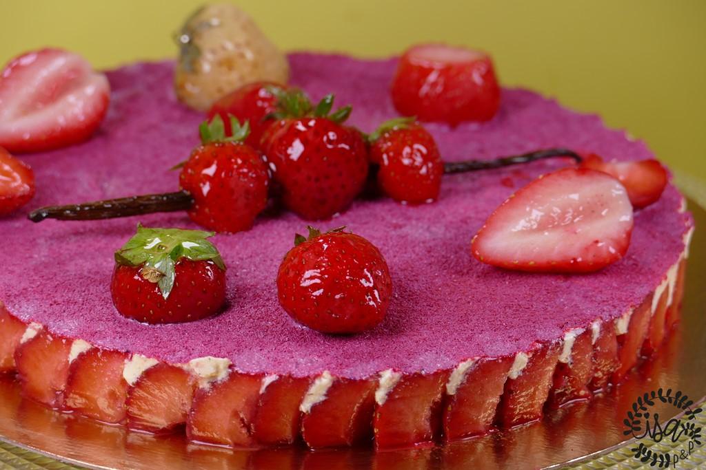 Le fraisier par Yannick tranchant