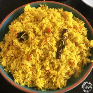 Riz Indien au safran
