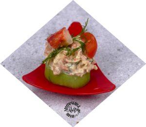 Amuse-bouche Concombre-crabe
