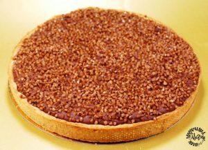 Tarte chocolat et sarrasin torréfié