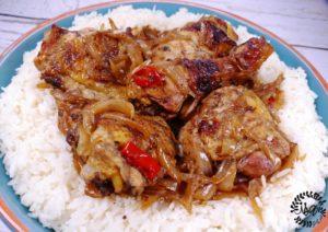 Yassa de poulet